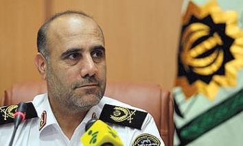 رییس پلیس تهران