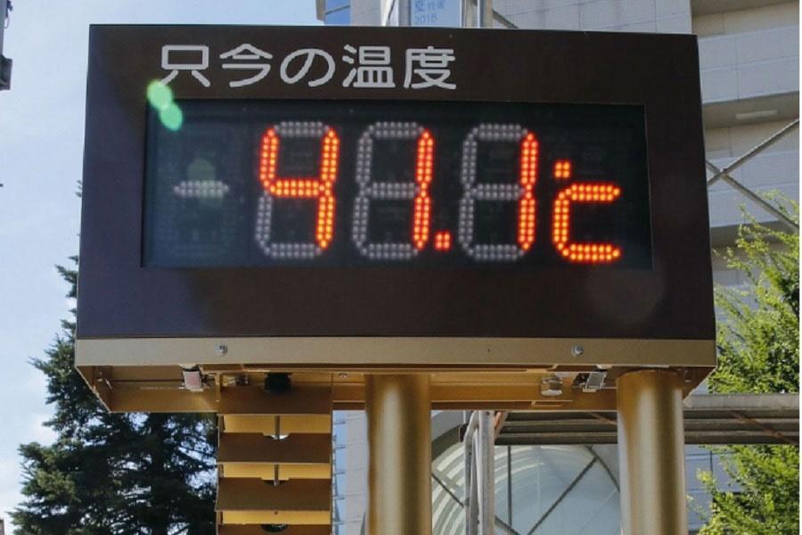شمار جان باختگان گرما در ژاپن به ۴۰ تن رسید