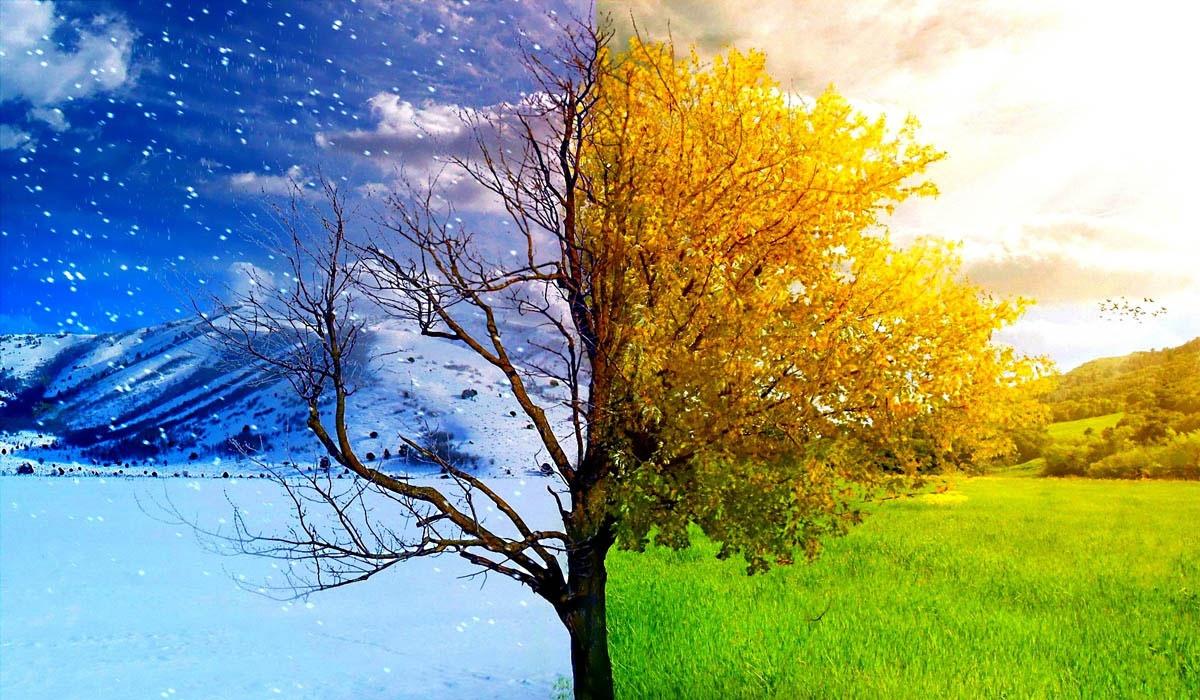 تغییر فصلها به دست بشر