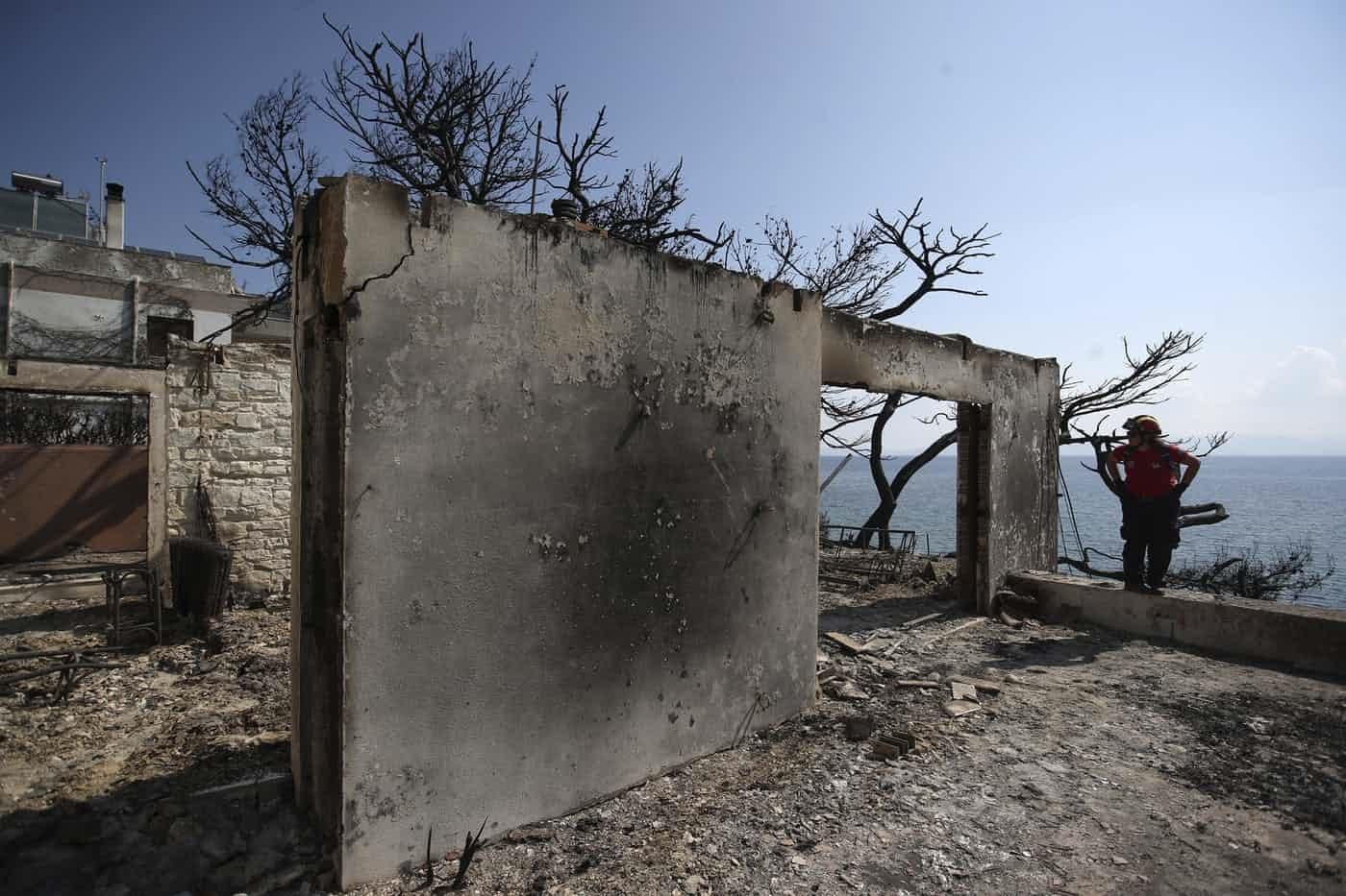 عکس روز: پس از آتشسوزی