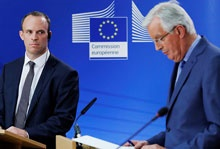 اروپا پیشنهاد لندن درباره آینده روابط تجاری را نپذیرفت