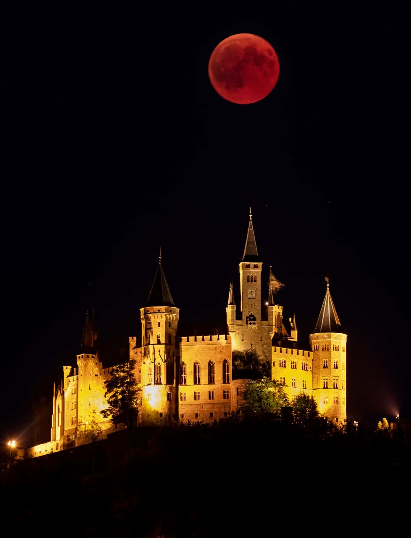عکس روز: ماه خونین