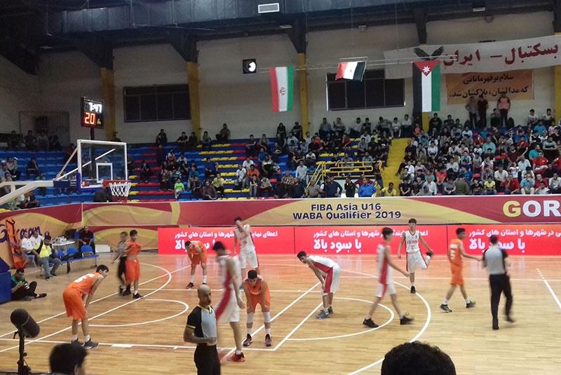 بسکتبال نوجوانان غرب آسیا؛ پیروزی مقتدرانه ایران مقابل عراق