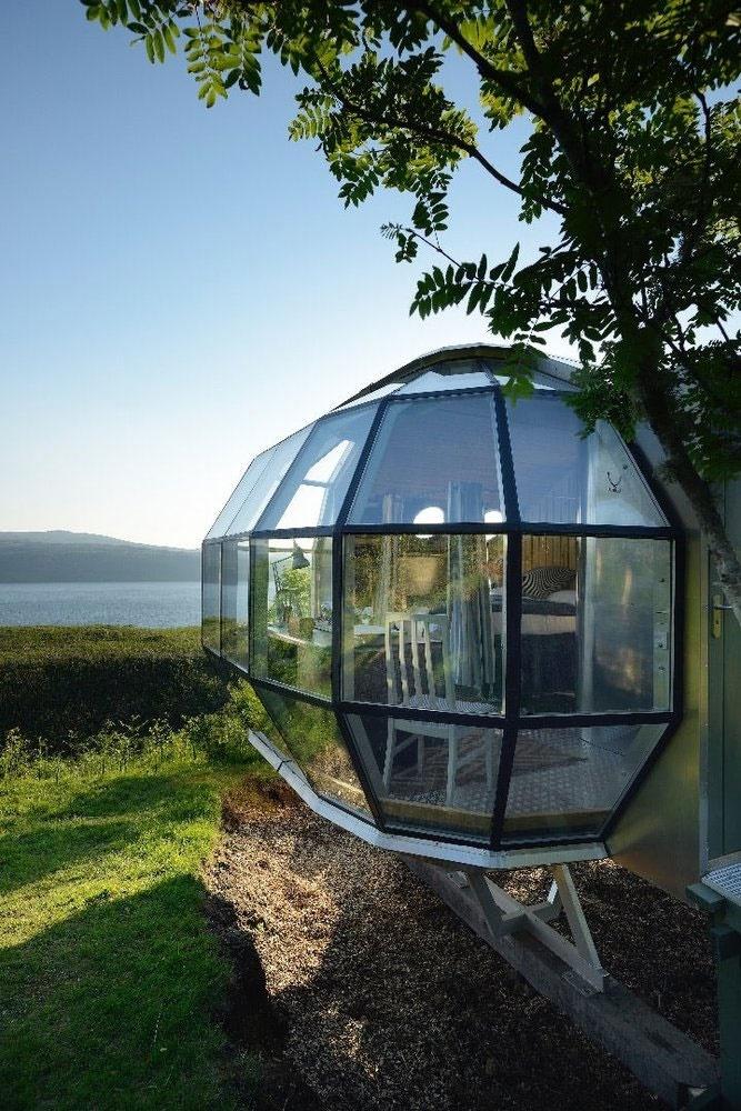 خانهای شبیه فضاپیما در اسکاتلند