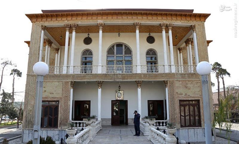 سردر خانه تاریخی تیمورتاش رونمایی شد