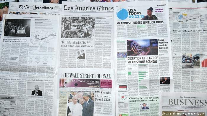 خطر ورشکستگی روزنامهها در آمریکا در سایه جنگ تجاری ترامپ