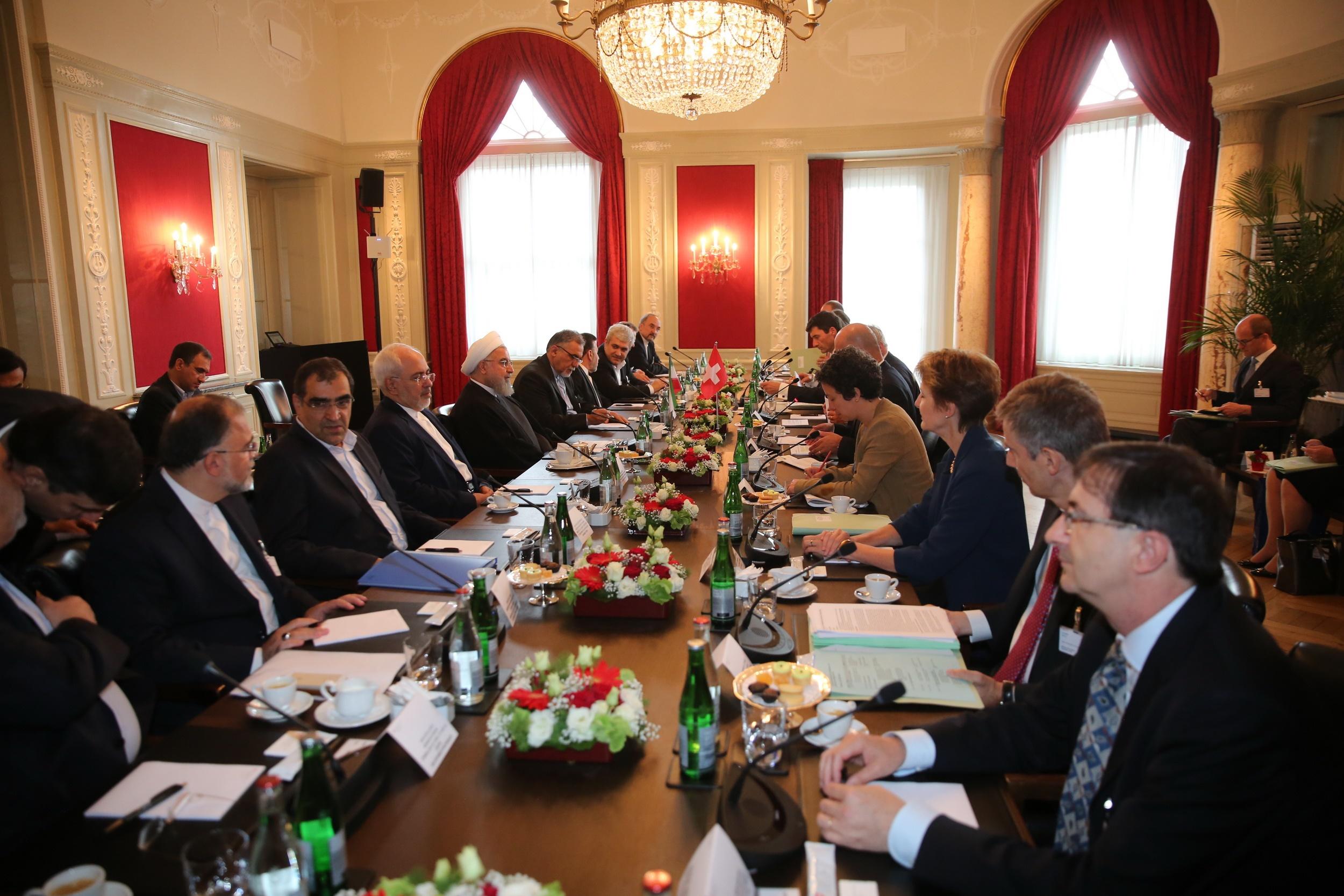 روابط تاریخی تهران - برن متکی بر منافع دو جانبه و همکاری بینالمللی است