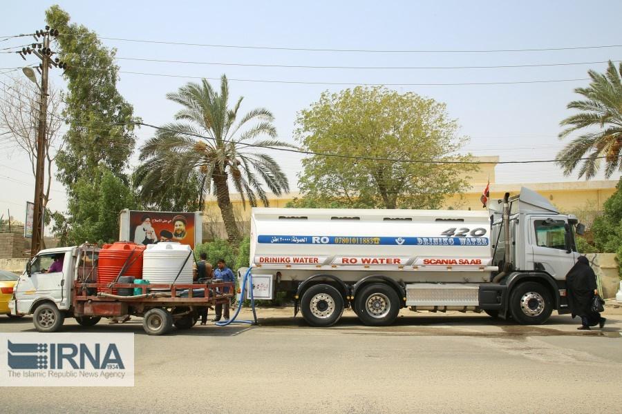 بحران آب در عراق