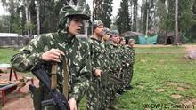 آموزش نظامی به کودکان در اردوگاههای تابستانه در روسیه