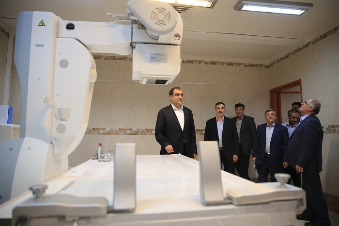 افتتاح پروژه در استالن زنجان