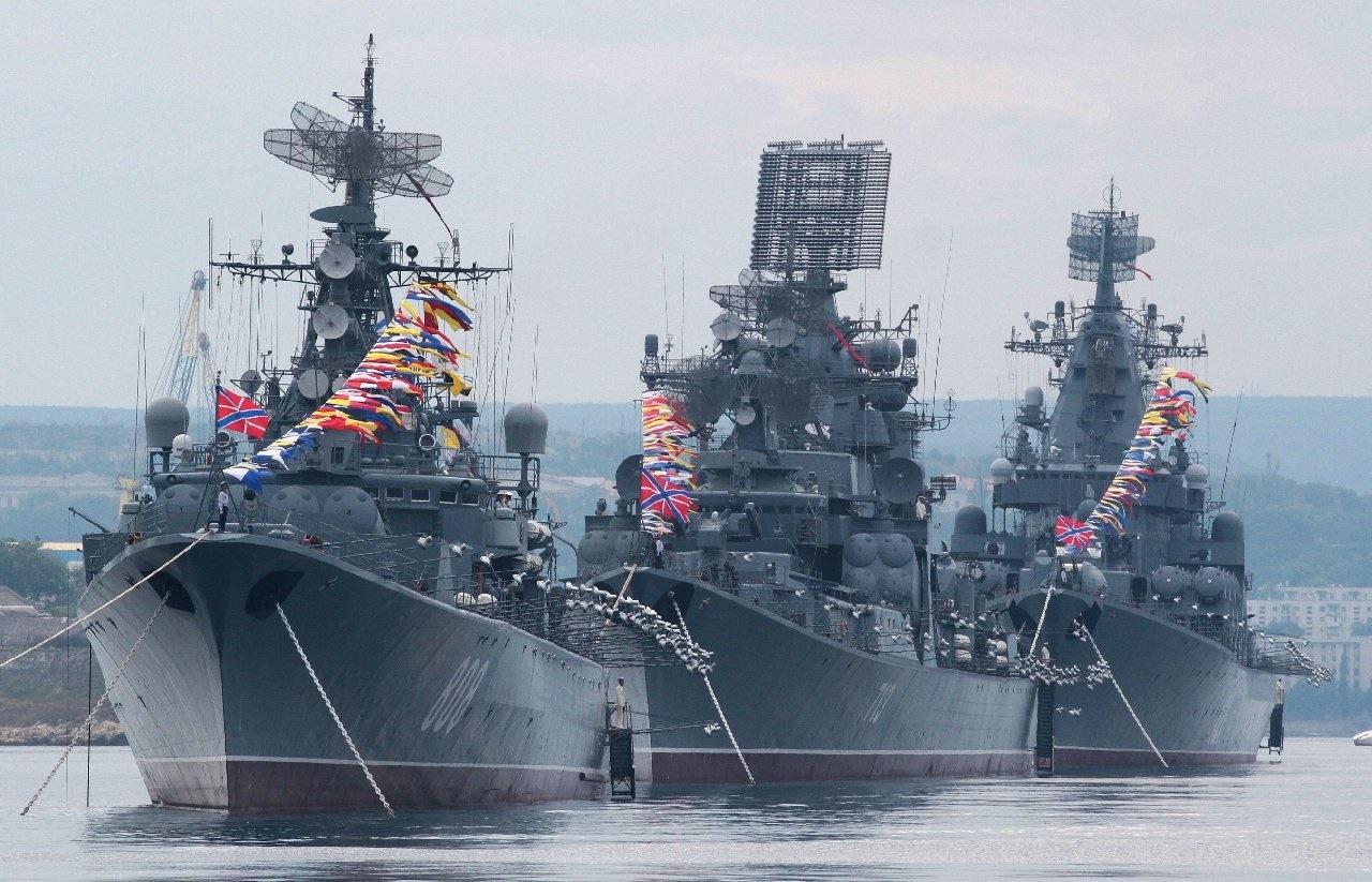 ناوهای روسیه شرق دریای مدیترانه را میبندند