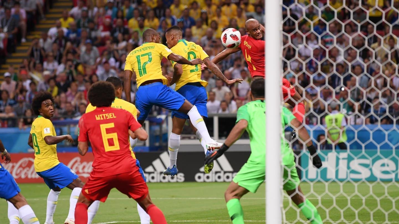 بلژیک ۲- برزیل یک   برزیل و نیمار هم به پایان راه رسیدند