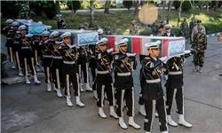 ۳ شهید تازه تفحص شده نیروی زمینی ارتش تشییع شدند