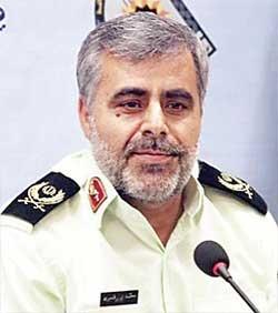 سردار محمد قنبری، فرمانده انتظامی استان سیستان و بلوچستان