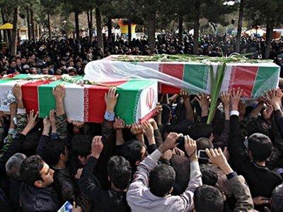 پیکر ۲ شهید دفاع مقدس در مشهد تشییع شد
