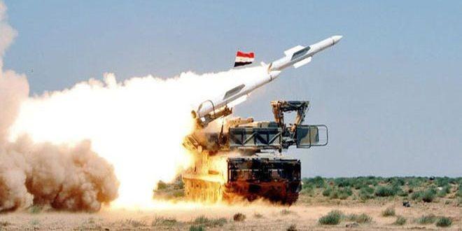 بیانیه وزارت دفاع سوریه در باره حمله هوایی رژیم صهیونیستی به فرودگاه تی-۴