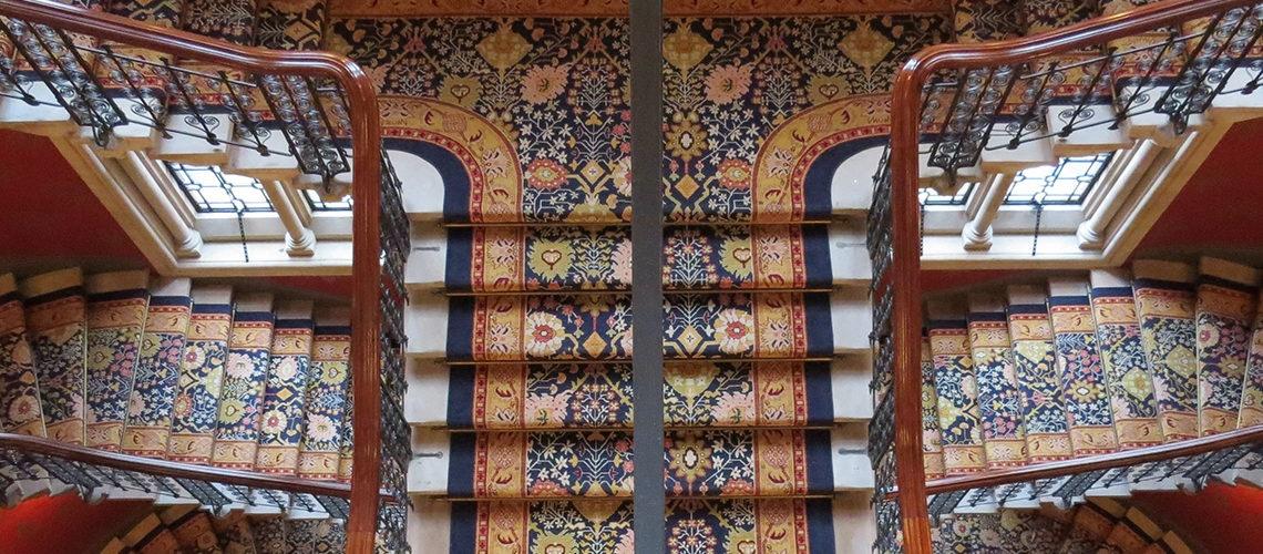 هتل با فرش ایرانی