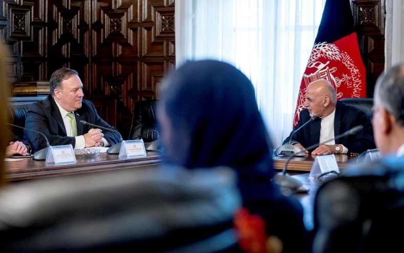 سفر غیر منتظره وزیر امور خارجه آمریکا به افغانستان