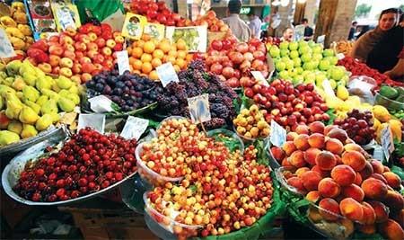 بازار داغ میوههای تابستانی