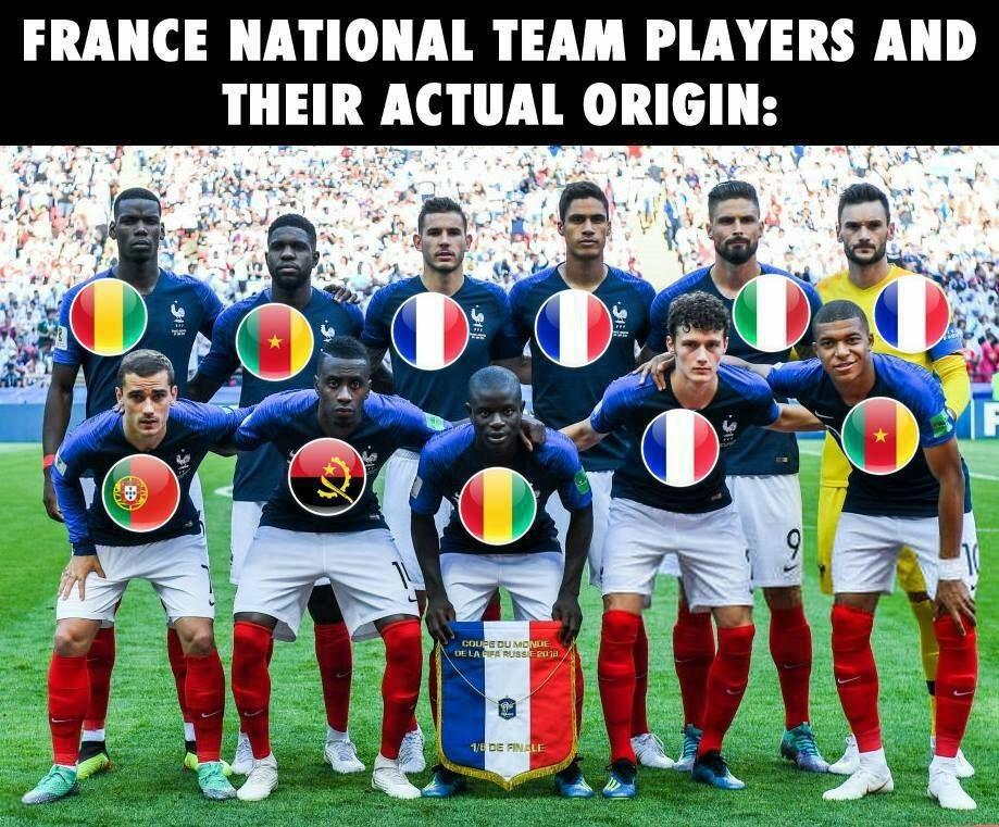 فرانسه؛ تیم ملی یا بینالمللی؟   پرچمها پاسخ میدهند