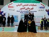 مازندران به عنوان نخست آلیش بانوان قهرمانی کشور دست یافت