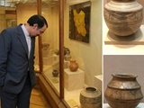 نمایش ۲ اثر تاریخی از نهاوند در موزه هنرهای شرقی مسکو