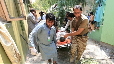 نیمه نخست ۲۰۱۸ در افغانستان   خونین ترین روزها برای غیرنظامیان