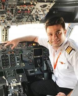 جزئیاتی از بازداشت و آزادی کارآموز کمک  خلبانی   شکایت از رضا رشیدپور