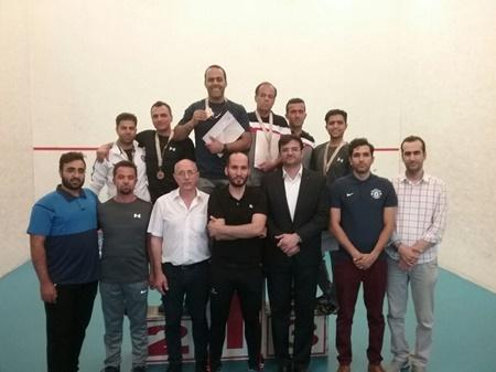نفرات برتر مسابقات اسکواش پیوند اعضا مشخص شدند