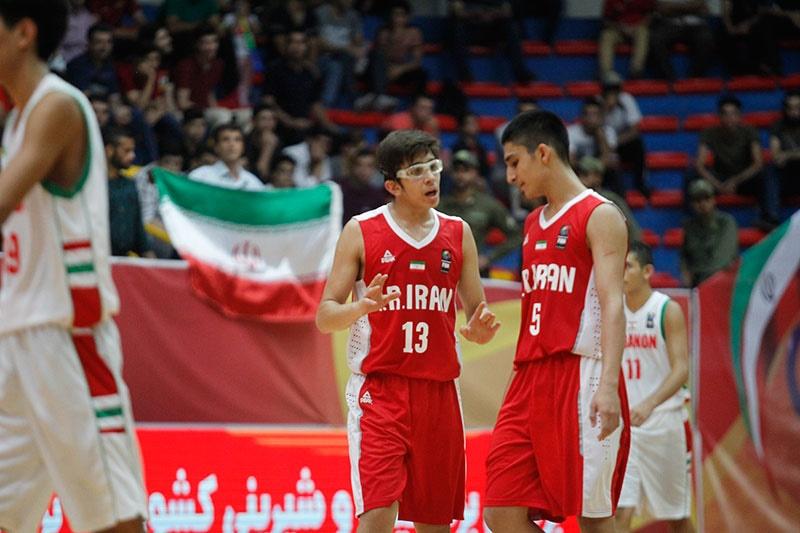بسکتبال نوجوانان غرب آسیا/ شکست ایران مقابل لبنان