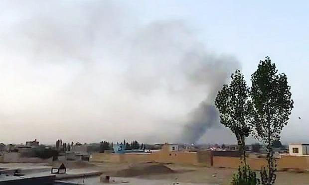 حمله گسترده طالبان به شهر غزنی افغانستان