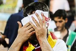 آسیب تماشاچی فوتبال ایران