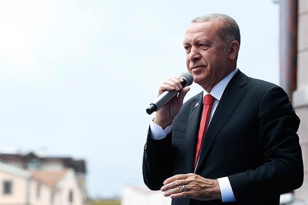 اردوغان: ایران، چین و روسیه در جنگ اقتصادی کنار ما هستند