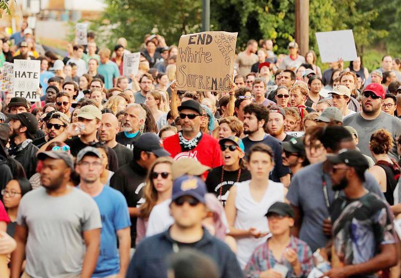 آمریکا | تظاهرات علیه نژادپرستی در سالگرد درگیریهای شارلوتزویل