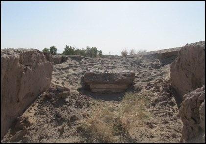 کشف یک آتشدان ساسانی در کرمان