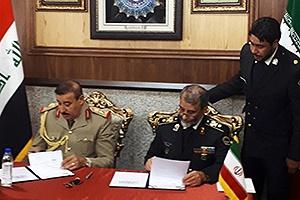 تفاهمنامه مرزبانی میان ایران و عراق منعقد شد