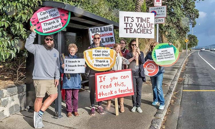 اعتصاب آموزگاران نیوزیلندی