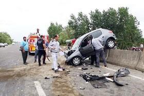 بیشترین تصادفات تیر ماه بین ساعت ۱۶ تا ۲۴ بود