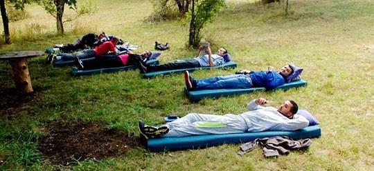 برگزاری ششمین دوره مسابقه تنبلی در مونته نگرو