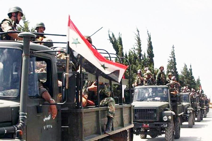 عملیات نظامی ارتش سوریه در استان ادلب آغاز شد