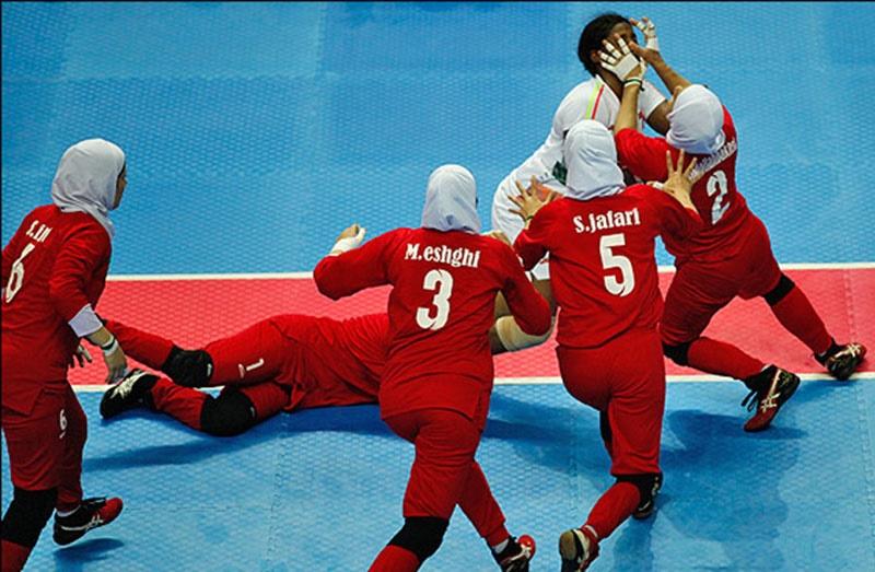 بازیهای آسیایی جاکارتا؛ پیروزی بانوان کبدیکار در اولین مسابقه