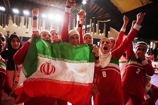 قهرمانی کبدی بانوان ایران در آسیایی جاکارتا