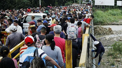 مهاجران ونزوئلایی