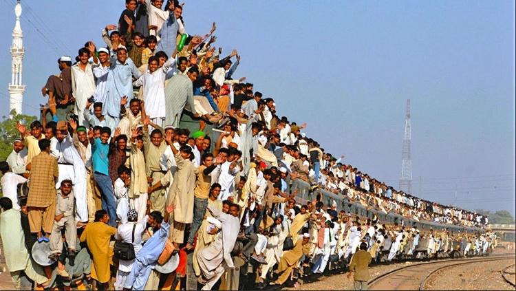 شلوغی جمعیت در هند
