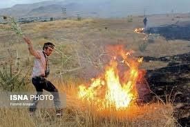 ۴ نفر در آتشسوزی جنگلها و مراتع مریوان جان باختند