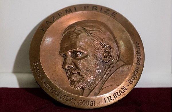 مایکل دلوکا ایتالیایی برنده کاظمی پرایز ۲۰۱۸