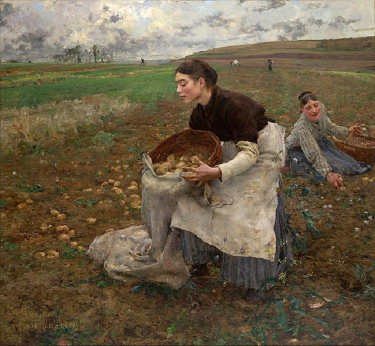 ژول باستین لپگ | نقاشی اکتبر| ۱۸۸۴