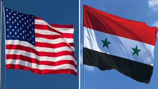 سوریه - آمریکا