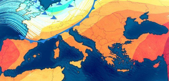 گرما اروپا