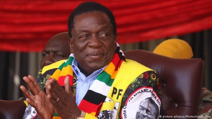 رییس دولت کنونی پیروز انتخابات زیمبابوه اعلام شد